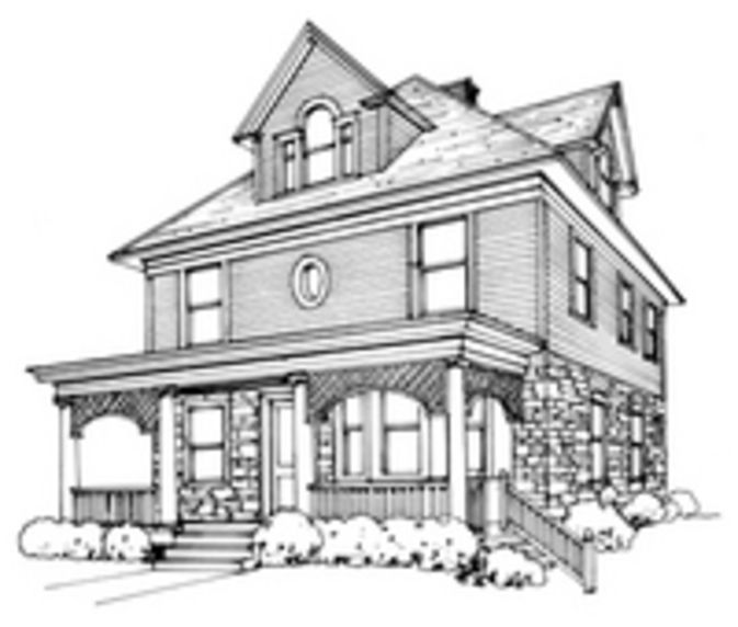 Recrafting A 1915 Craftsman: 17 Best Ideas About Foursquare House On Pinterest