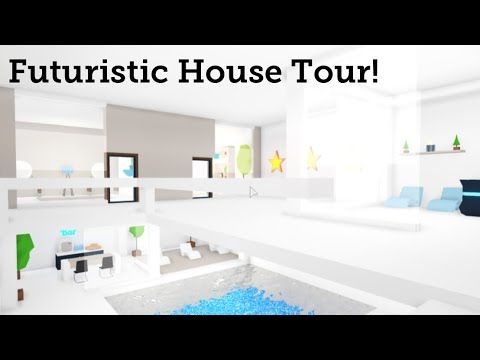 Futuristic House Tour Adopt Me Youtube In 2021 Futuristic Home House Tours House