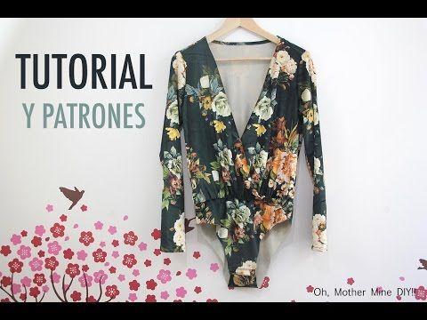 DIY Costura: Como hacer chaqueta bomber para mujer (patrones gratis) - YouTube