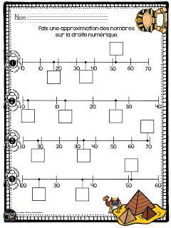 La classe de Mme Émond * petitcrayola: Approximation sur une droite numérique