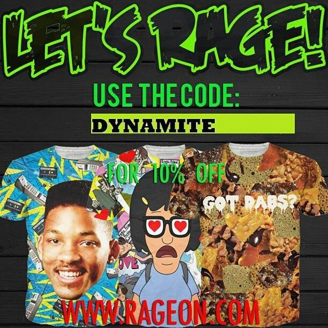 """Go check out the BEST CLOTHING company ever :D #clothing #shirts #fashion #freshprince #willsmith #dabs #dabbing #cartoons ... if you decide to buy something rad for yourself use the code """"DYNAMITE"""" when checking out for 10% off your purchase :)"""