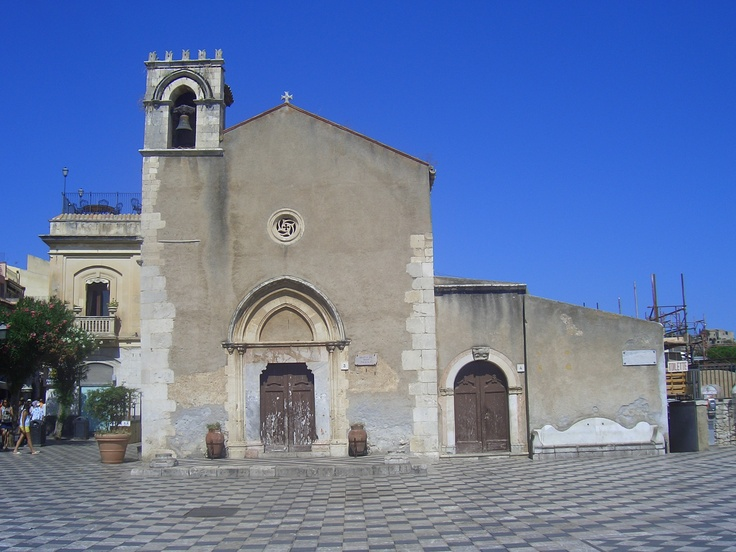 church in Taormina