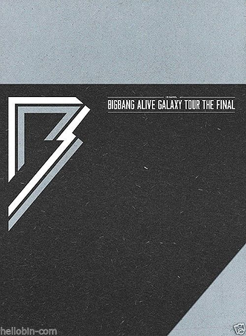 BIGBANG - 2013 Alive Galaxy Tour [THE FINAL IN SEOUL] 3DVD + Booklet + ClearFile