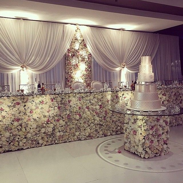 Wall Decoration Ideas Wedding: 17 Best Images About Cake Tables On Pinterest