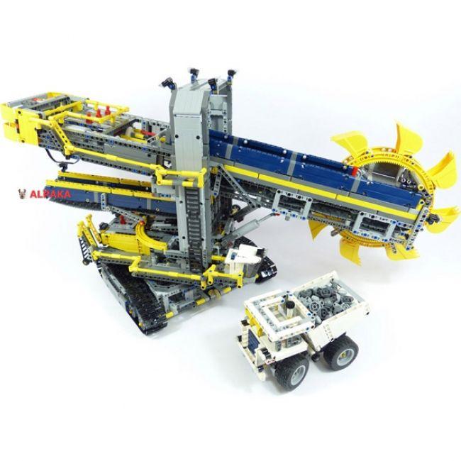 """Лего 42055 """"Роторный экскаватор"""". Обзор и продажа конструктора Lego 42055."""