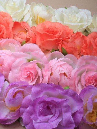 Estos son los tonos de las diademas tocado de flores.