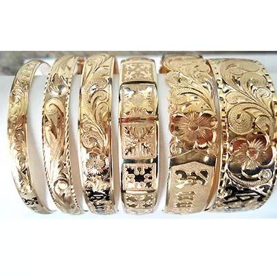 My favorite jewelry- Hawaiian Heirloom bracelets