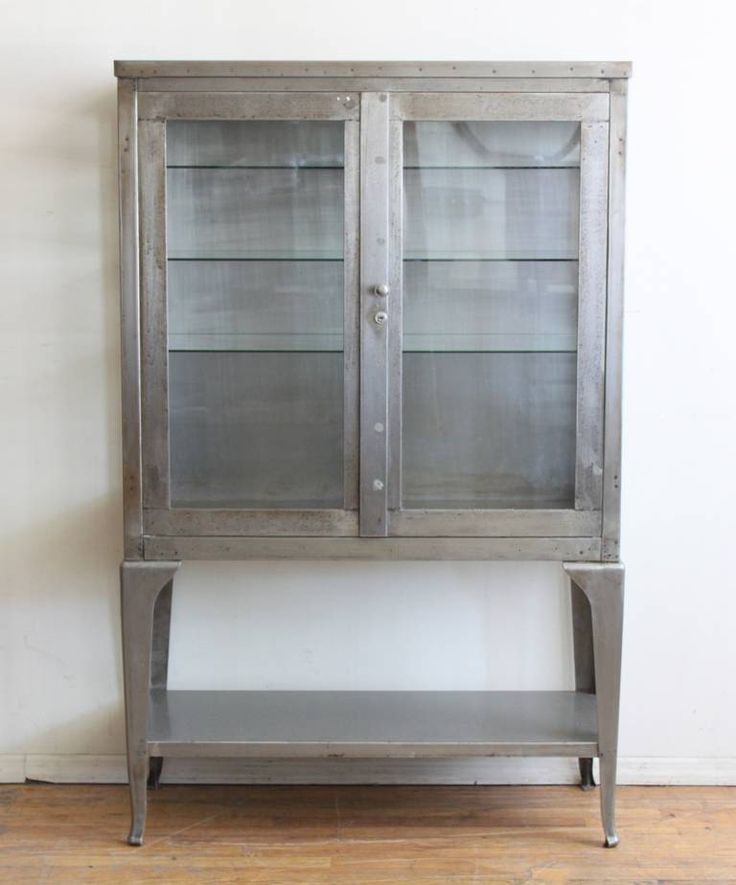 Industrial Metal Medical Cabinet | From A Unique Collection Of Antique And  Modern Cabinets At Https