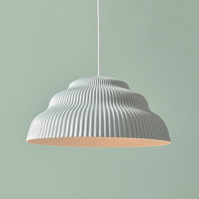 With its soft shades of green our Kaskad lighting brings a calm and harmonious feeling to any indoor space! #slowliving #mint #mossgreen #warmlight