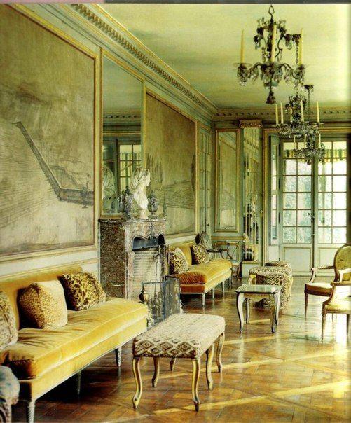 Стиль Элси де Вульф: Светлые пастельные оттенки стен