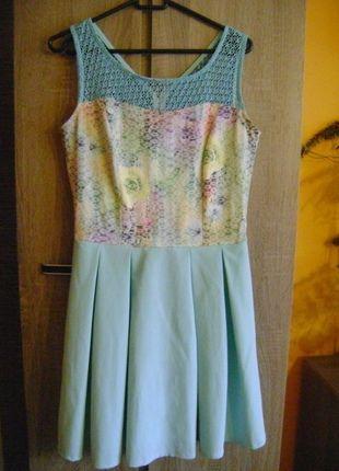 Kup mój przedmiot na #vintedpl http://www.vinted.pl/damska-odziez/krotkie-sukienki/11763425-sukienka-na-lato-38-turkusowa