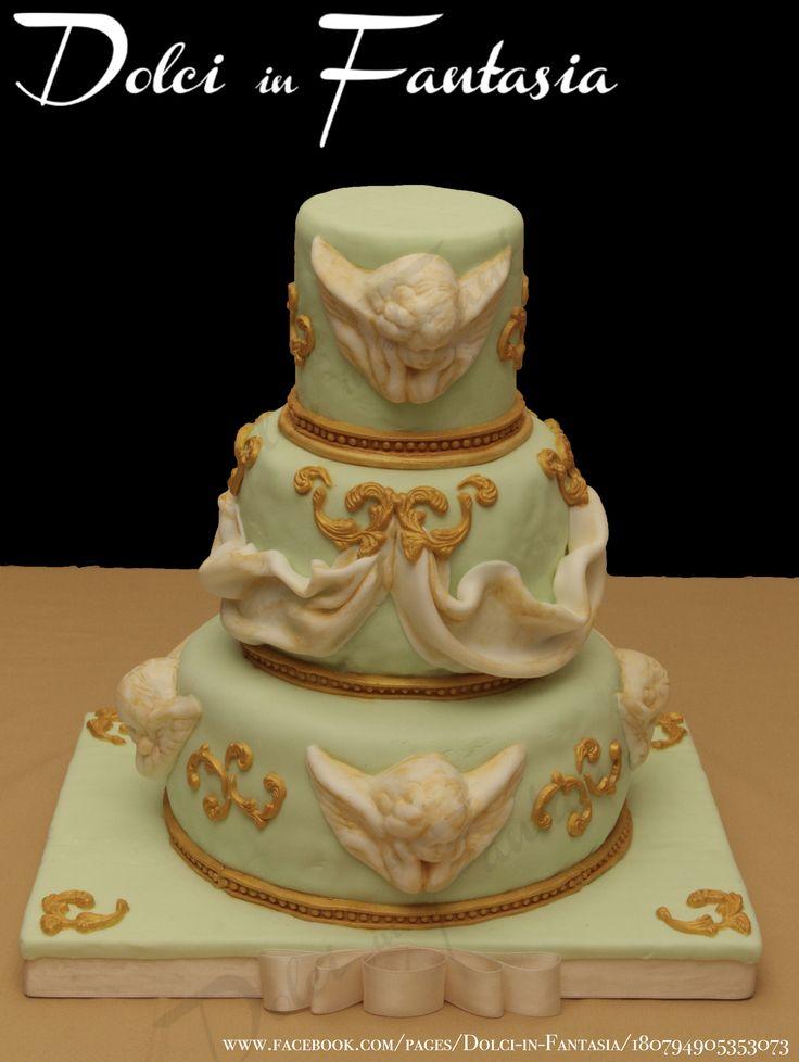 baroque inspired cake