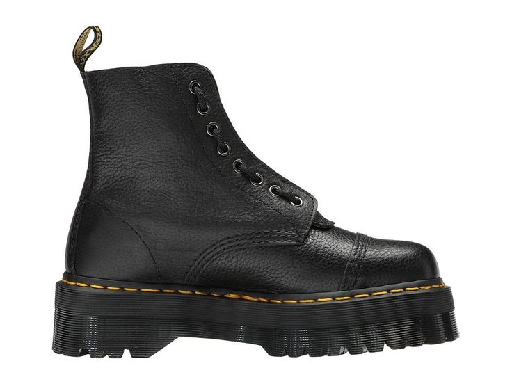 Dr. Martens Sinclair Jungle Boot Women's Boots Black Aunt Sally