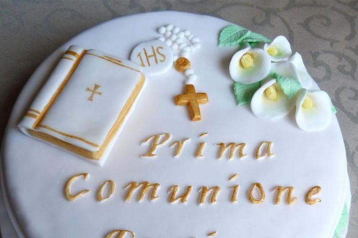 Prima Comunione, Piccola Festicciola Parenti, Torta - Guide di Cucina