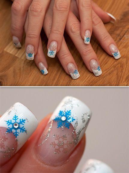 snowflakes airbrush