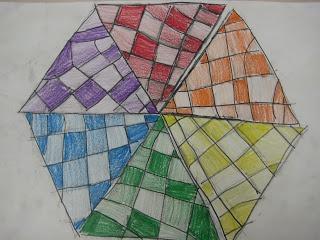 Üçgen Tasarım Renk Tekerlekler - 5. Sınıf: Sanat Wilkinson Wonderful World