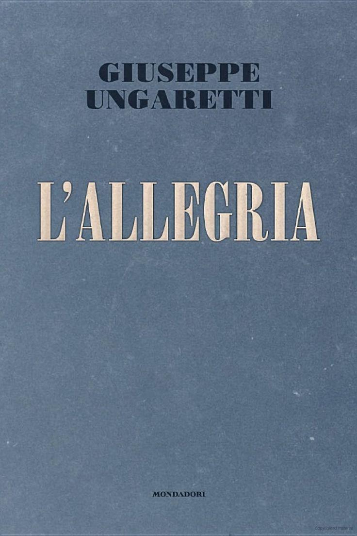 L'allegria di Giuseppe Ungaretti