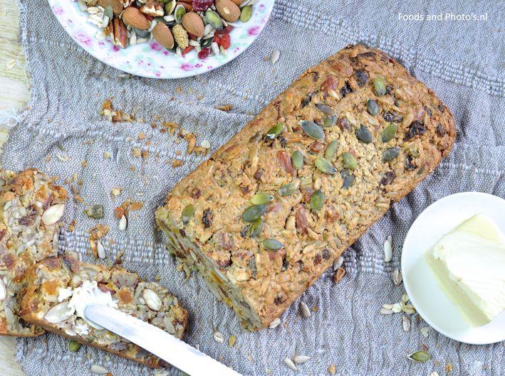 Glutenvrij noten- en zadenbrood |