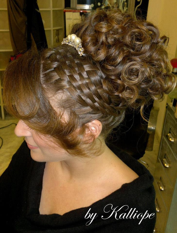 How To Make A Basket Weave Hairstyle : Best images about woven effect on braid