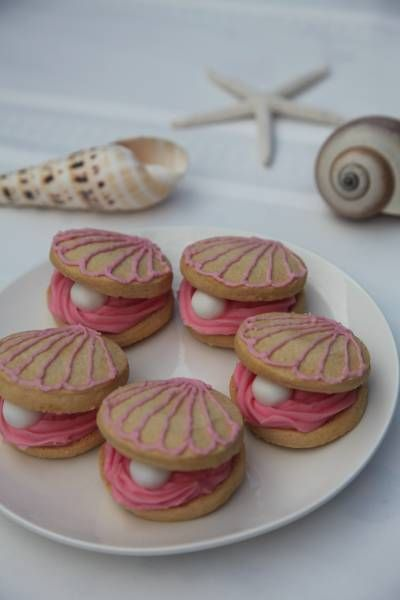 Oyster and Pearl Cookies