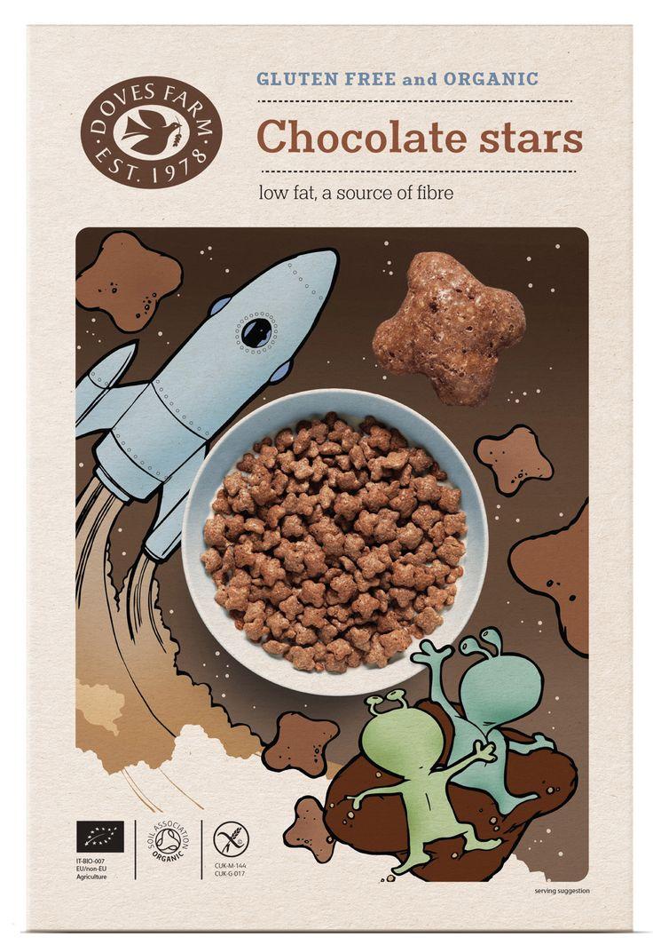 Doves Farm cereal packaging design - Studio h …