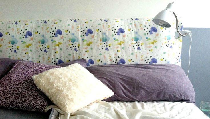 Φτιάξτε Μόνοι σας ένα Υπέροχο Κεφαλάρι για το Κρεβάτι σας