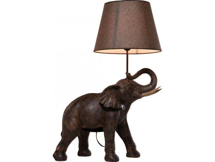 Lampa Stołowa Elephant Safari — Lampy stołowe Kare Design — sfmeble.pl