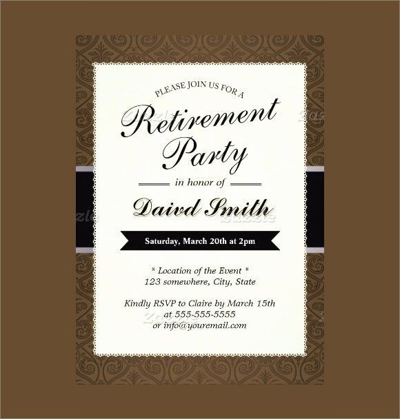 Pin On Event Invitation Template Example