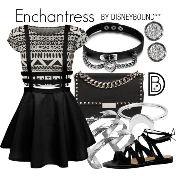 Disney Bound - Enchantress (DC Comics - Suicide Squad) (Found on DisneyBound Polyvore)