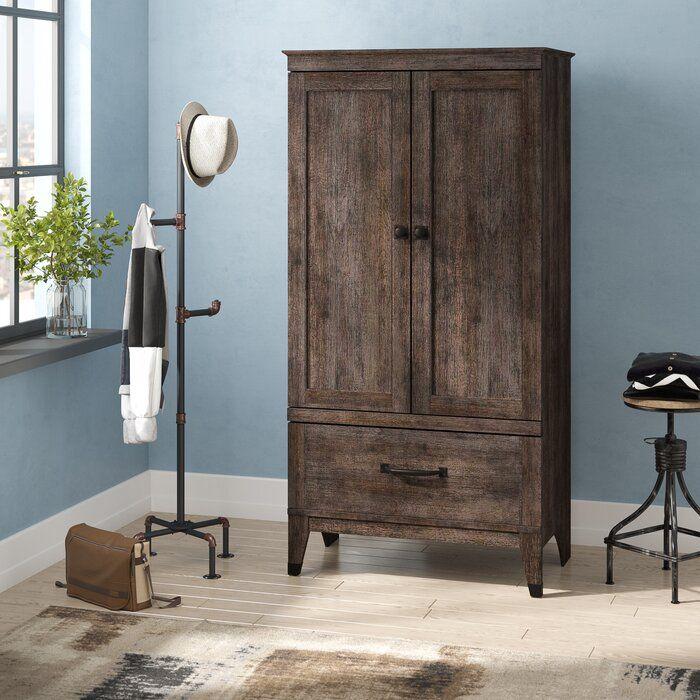 Chappel 2 Door Wardrobe Armoire Wooden Armoire 2 Door Wardrobe