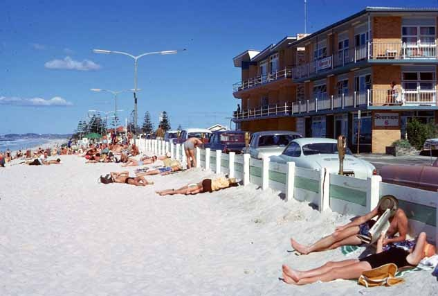 In the 60's this how we went to the beach, now most beaches are blocked by high rise buildings.