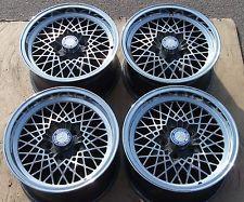 ALUFELGEN Mercedes Benz E-S-SL-SLC W124,W123,W107,W116,W126,W201 MSW wie BBS