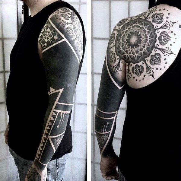 Tattoo Trends Cool Blackwork Mens Full Sleeve Tattoo Design Videos Men Tatuajes Video De Dragon