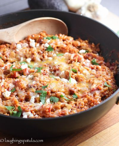 Best Spanish Rice! - Easy, healthy and a great way to kick up your weeknight meals!