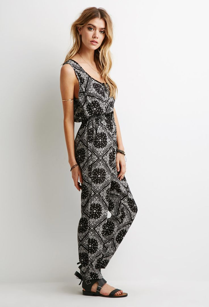 Paisley Print Jumpsuit | Forever 21 Canada