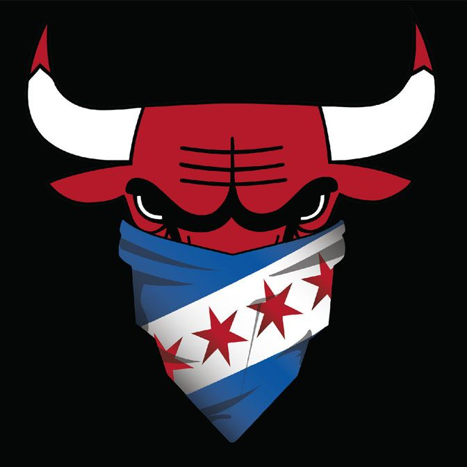 1000 Ideas About Chicago Bulls Logo On Pinterest