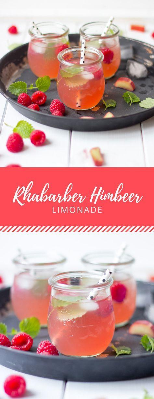 Rhabarber Himbeer Limonade – Valentina Brozda
