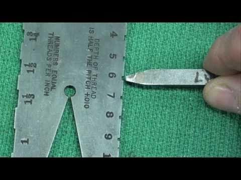 MACHINE SHOP TIPS #24 Acme Threading Part 1 tubalcain - YouTube