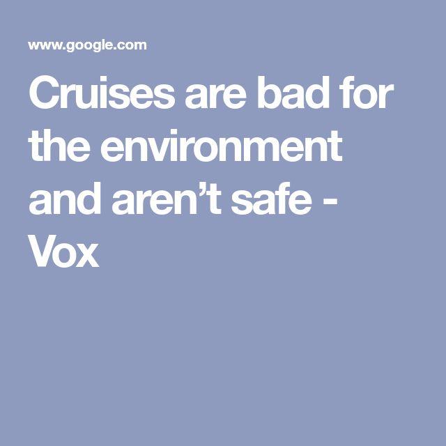 The case against cruises | Cruise, Disney cruise ships ...
