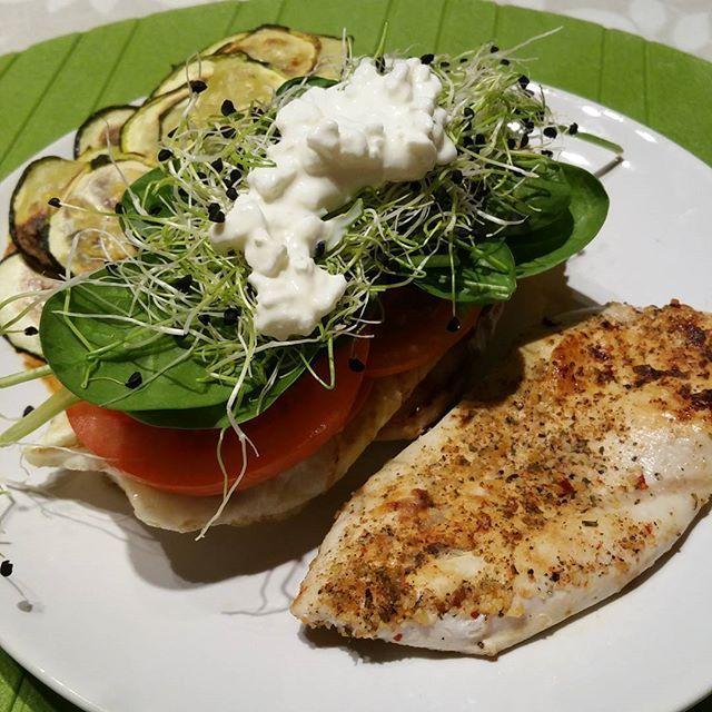 A comer! Buen provecho!  #foodideas #CenaSaludable #Food
