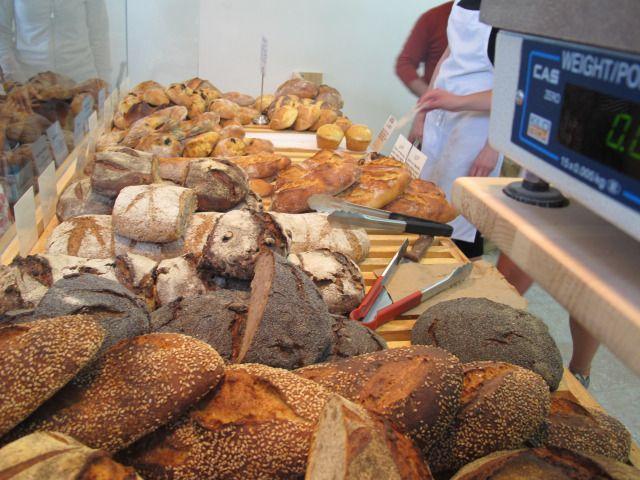 Bread at Joe La Croute in MTL's hottest bakery in Jean-Talon Market - Loooove it