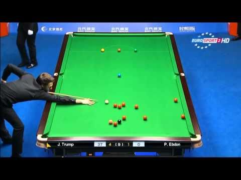 Judd Trump 127 Clearance Break vs Ebdon   2015-China Open Snooker