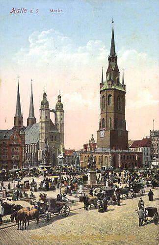 Halle - Markt
