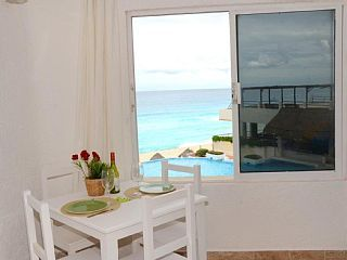 Cute,+Affordable+And+Ocean+Front.+++Vacation Rental in Cancun from @homeaway…