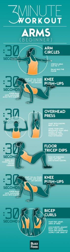 Arm Workout For Women – 3 Minute Exercises to Get Rid of Flabby Arms http://www.shavethepounds.com/
