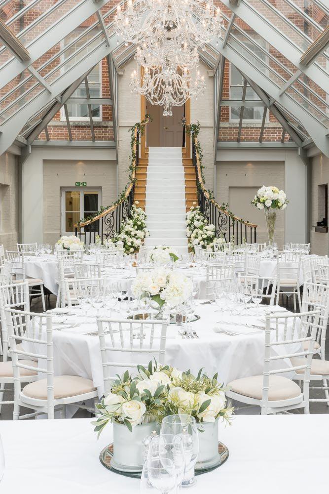 The Atrium at Botleys Mansion #WeddingVenue #LuxuryWedding #GlamorousWedding…