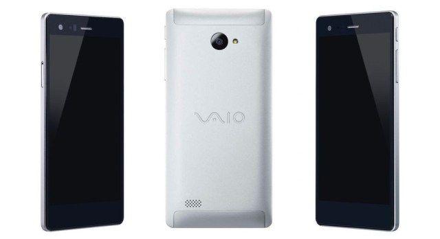 Aici este VAIO Telefon Biz pentru Windows 10 Mobile.