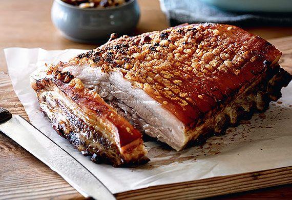 Tooheys crunchiest crackling pork belly