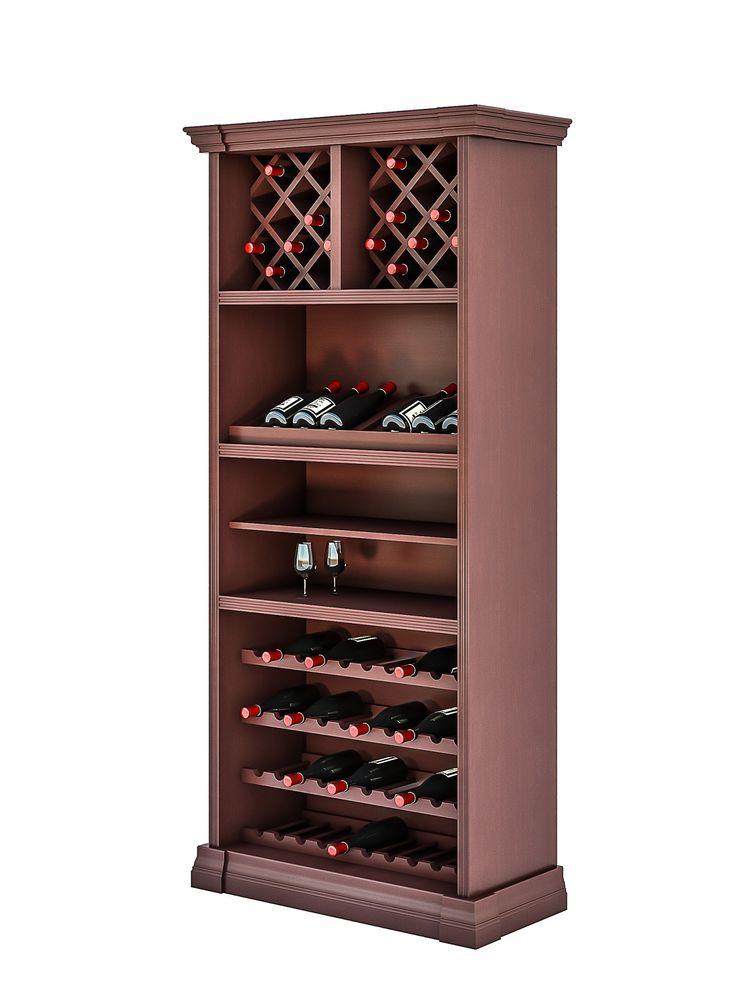 Винный шкаф (для хранения вина) 2412 Деметра Вудмарк
