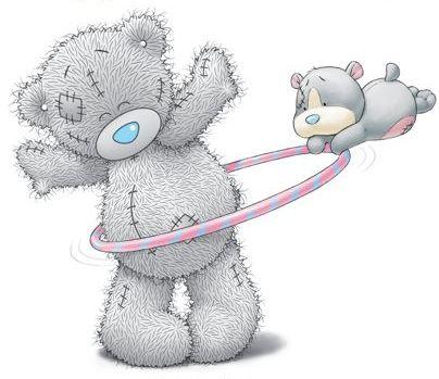 ♥♥(。・ω・。) Blue Nose Friends. Tatty Teddy® (also known as Me to You Bears) is by the Carte Blanche Greetings Ltd. (。・ω・。)
